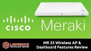 Cisco ben meraki BAY 33 Kablosuz AP ve Pano Özellikleri İnceleme