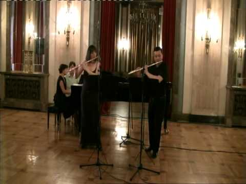 F.Kuhlau - Trio G-dur op.119 for 2 flutes and piano - II Adagio patetico