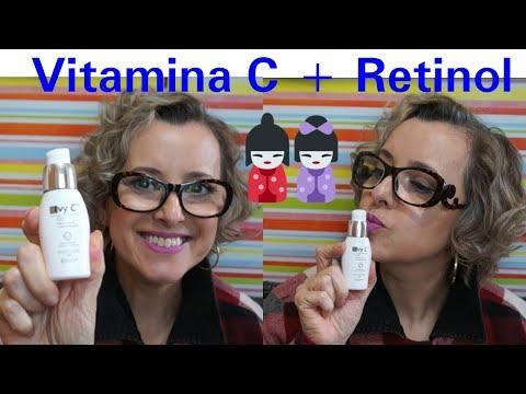 IVY C GEL -VITAINA C   RETINOL - RESENHA - melhor para pele oleosa