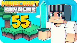 Minecraft Skywars Daora - Tentando rimar ao jogar #55