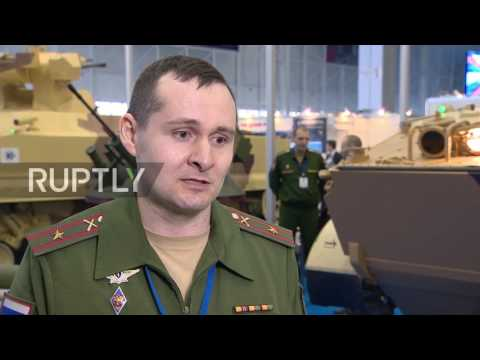 Russia: Latest military robotic technologies showcased at Military Robotics Conference