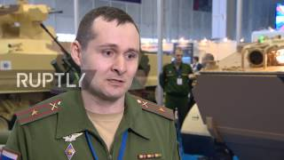 Russia  Latest military robotic technologies showcased at Military Robotics Conference