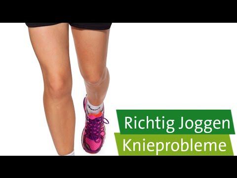 Knie schmerzen nach joggen