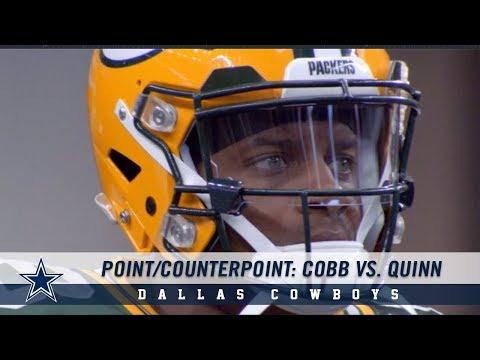 Point/Counterpoint: Debating Randall Cobb Vs Robert Quinn | Dallas Cowboys 2019