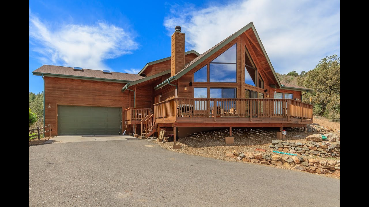 801 bryce canyon prescott az chalet home in the pines for The prescott
