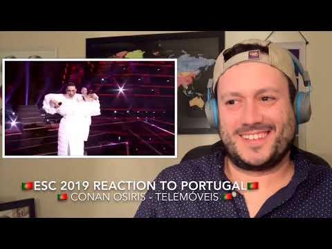 🇵🇹 ESC 2019 Reaction to PORTUGAL!🇵🇹