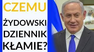 """Papis: """"The Jerusalem Post"""" celowo i świadomie przekręcił słowa Netanjahu o kolaboracji Polaków"""