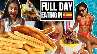 FULL DAY OF EATING IN SPAIN!