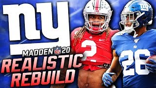 Rebuilding the New York Giants | Giants Draft Chase Young! Madden 20 Franchise