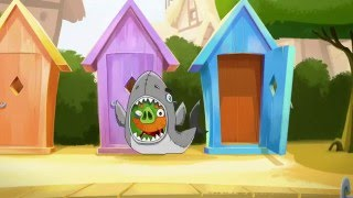 Злые птички - Энгри Бердс - Свиньи из глубин (S1E46) || Angry Birds Toons