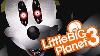 Little Big Planet 3 - ABANDONED BY DISNEY BECAME SUICIDE MOUSE CREEPYPASTA? - (littlebigplanet 3)