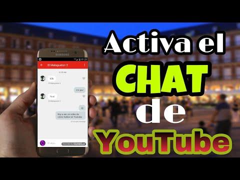 Como Activar El CHAT De Youtube   2017
