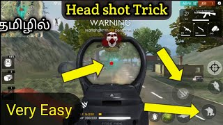 How to Put Headshot In Free Fire | Trick Gamer Tamil