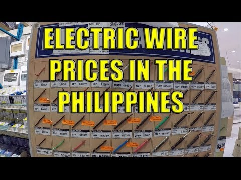 Electric Wire Prices In The Philippines