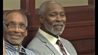 CLIFFORD WILLIAMS & NATHAN MYERS WRONGFULLY CONVICTED..FREE AFTER 42 YRS.