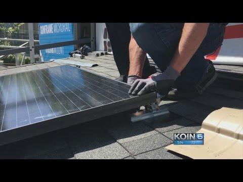 Solar energy industry in Oregon is growing