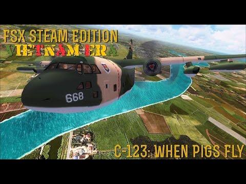[FSX SE] VIETNAM ERA:  C-123 Provider