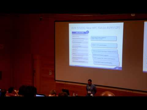 GNU Tools Cauldron 2014 - Introduction to new Intel SIMD ISA and its impact on GCC