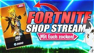 FORTNITE SHOP STREAM❌FORTNITE CUSTOM GAMES mit Euch!❌Fortnite Live Deutsch #fortniteshop