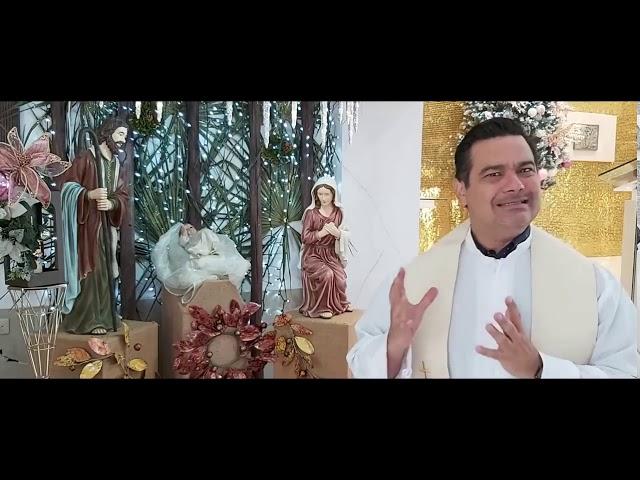 Mensaje Padre Gonzalo, Parroquia Sagrada Familia Cancún
