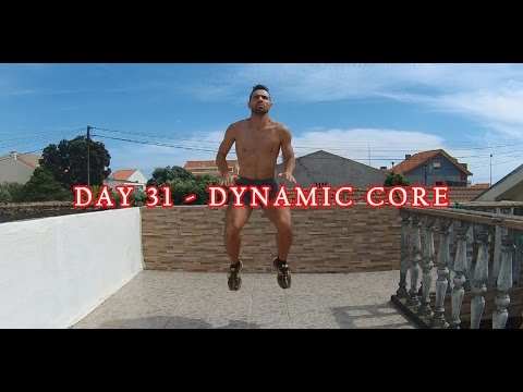 DAY 31 - 25 MIN FAT BURNER WORKOUT -  DYNAMIC CORE