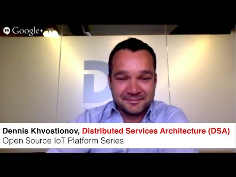Open Source IoT Platform Interview with Distributed Services