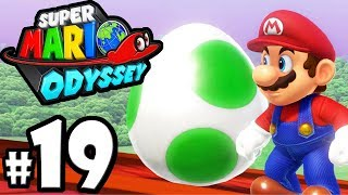 Super Mario Odyssey - Switch Gameplay Walkthrough PART 19: Peach's Castle - Yoshi - Mushroom Kingdom