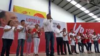 El Profe Maleno anuncia reducción de salario del 25%, candidato a presidente municipal de Tolimán.
