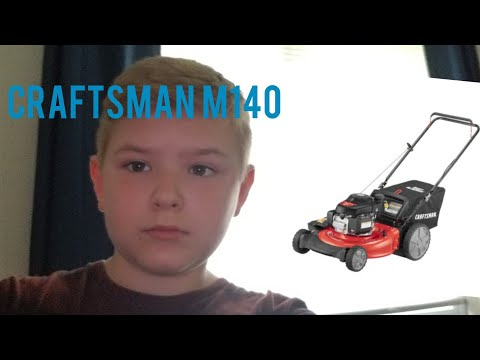 Craftsman M140 Lawn Mower: Unboxing/Assembly/Testing | Chase Weekly #Lowes #Craftsman