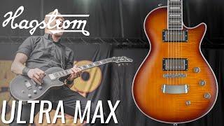 [NEW] Guitarra Ultra Max de Hagstrom. The swedish sound