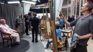 Cass Art Highlights: Sky Arts Portrait Artist of the Year 2014