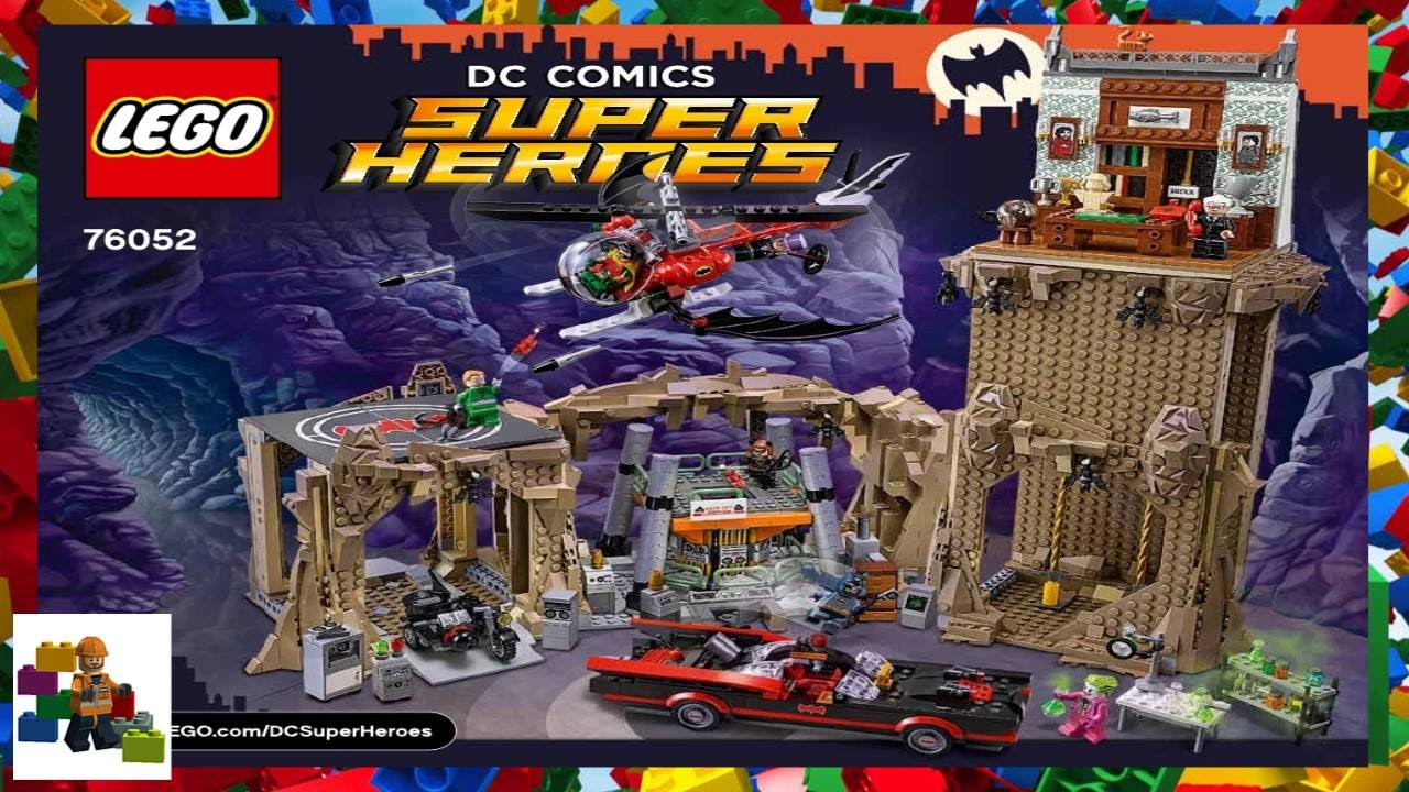lego batman batcave instructions
