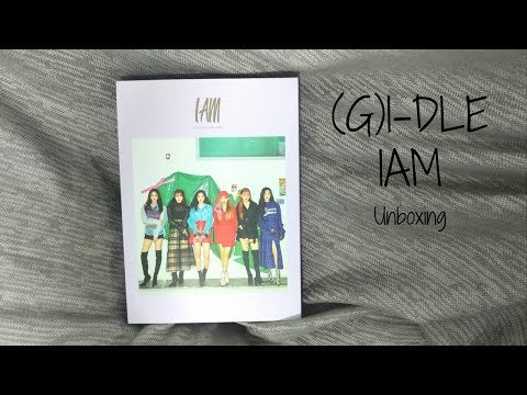 (G)I-DLE - IAM Unboxing ((여자)아이들)