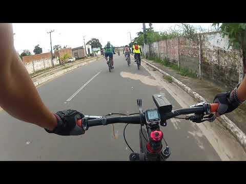 Saindo de Bike da Cidade de Raposa Maranhão