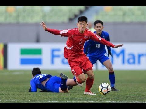 Video: U23 Triều Tiên vs U23 Thái Lan