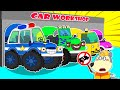 Lycan in Arabic 🌟 Lycan's Playing Profession and Play with Toy Cars | Lycan's Funny Stories For Kids