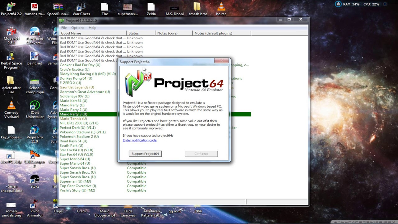 PROJECT64 KVE