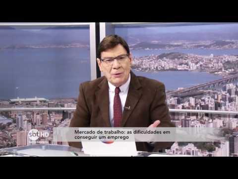 Luiz Carlos Prates fala sobre o Mercado de trabalho e as dificuldades de conseguir um emprego