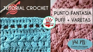 PUNTO FANTASIA # 3 Tutorial Crochet ❣️