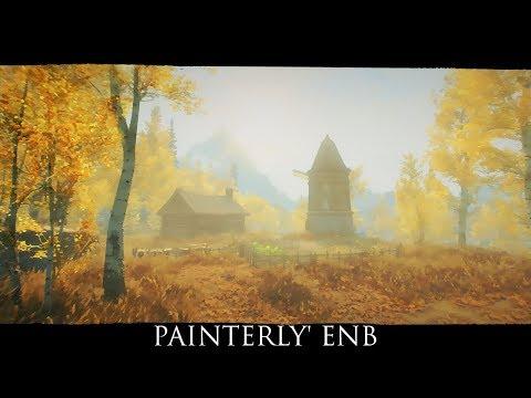 Skyrim SE Mods: Painterly' ENB v0.3