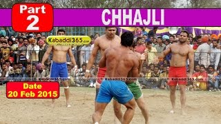 Chhajli (Sangrur) Kabaddi Tournament 20 Feb 2015  Part 2 by Kabaddi365.com
