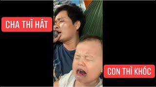 Cười xỉu khi hai cha con Khương Dừa mở liveshow bolero, kẻ thì hát người thì khóc....