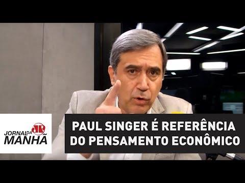 Paul Singer tem ampla obra que é referência do pensamento econômico | Marco Antonio Villa