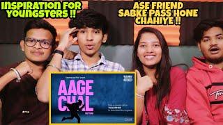 Gambar cover AAGE CHAL (OFFICIAL VIDEO) - RAFTAAR | SAURABH LOKHANDE | !LLMIND | KALAMKAAR | Reaction