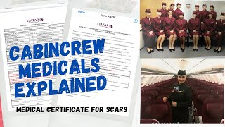CABIN CREW MEDICALS FOR QATAR AIRWAYS  MEDICALS REQUIRED TO WORK IN MIDDLEEAST AIRLINES