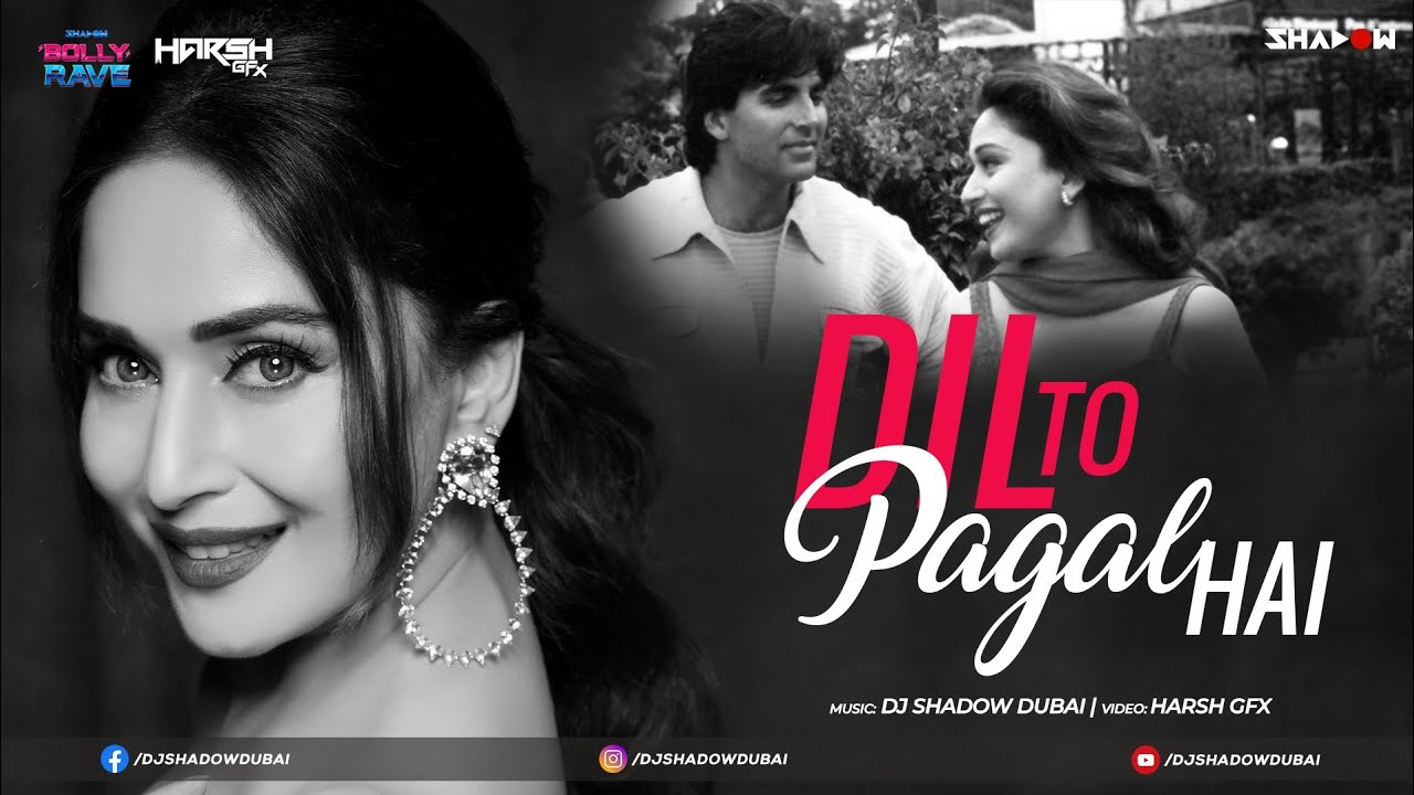 Download Dil To Pagal Hai | DJ Shadow Dubai Remix | BOLLY RAVE | Desilicious 100 | 2020