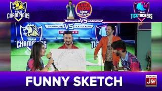 Funny Sketch | Game Show Aisay Chalay Ga League Season 2 | TickTocker Vs Champions