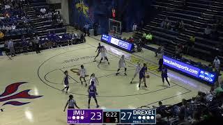 Highlight   JMU Women's Basketball @ Drexel