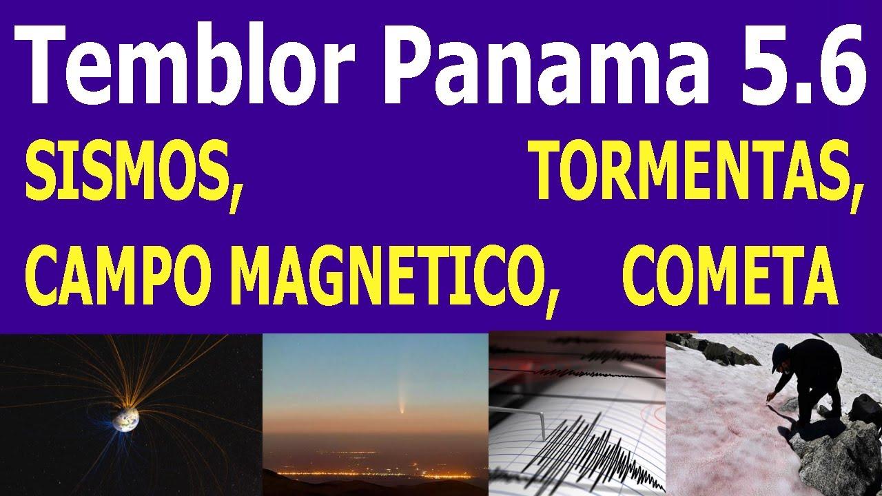 Sismo de Hoy panama 5.6 Actividad de Volcanes noticias de la actividad del planeta con Hyper333