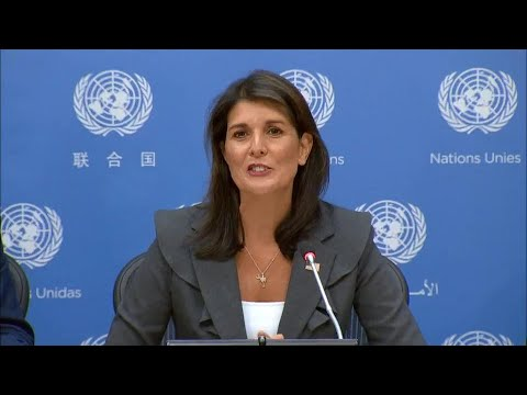 USA on the work of the Security Council in September - Press Conference (4 September 2018)